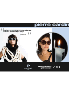 Catalogue BRIQUETS PIERRE CARDIN