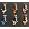 Porte clés Taureau émaillé