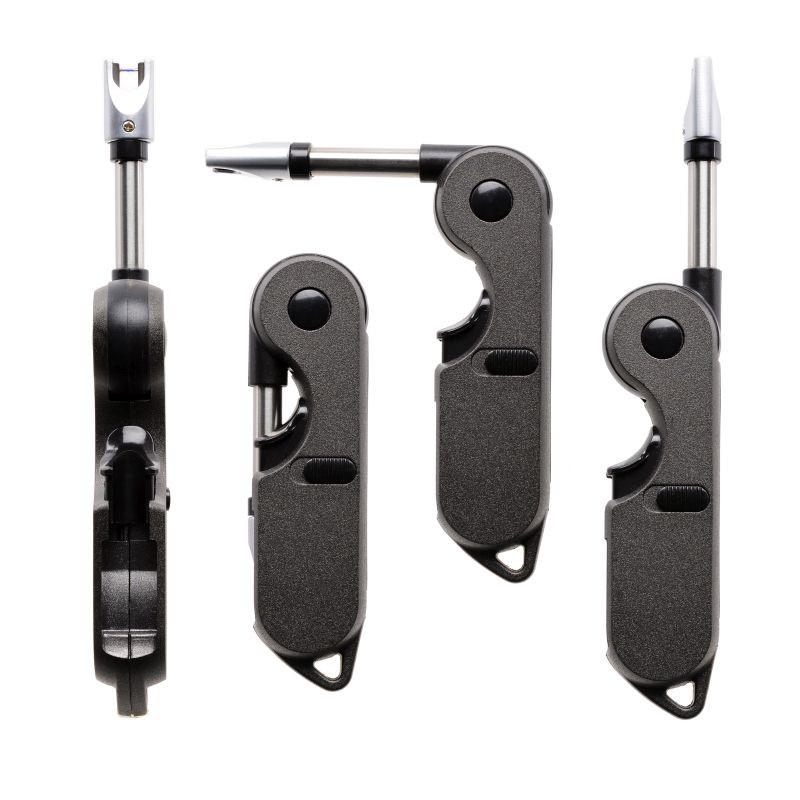 Briquet Cozy Arc électrique tête pivotante recharg USB Noir 5/50